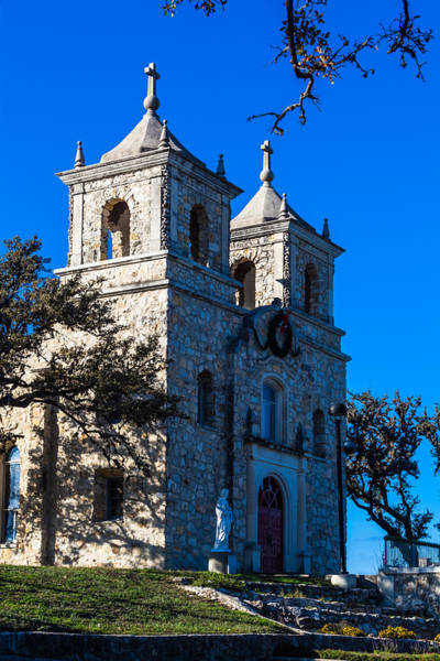 Photograph - St Peter's Catholic Church In Boerne by Ed Gleichman