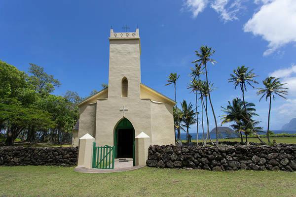 Colony Photograph - St Philomena, Father Damien's Church by Douglas Peebles