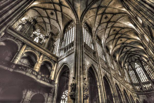 Photograph - St Vitus Cathedral Prague by John Magyar Photography