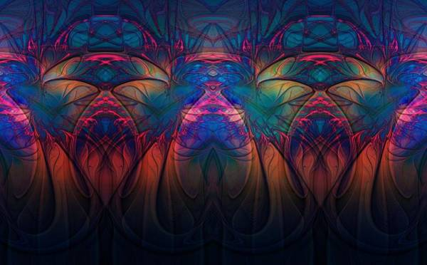 Digital Art - Stained Glass by Amanda Moore
