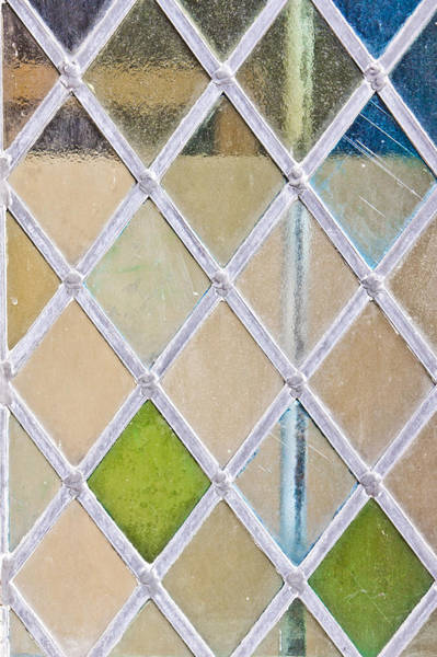 Frosted Glass Photograph - Stained Glass Window by Tom Gowanlock