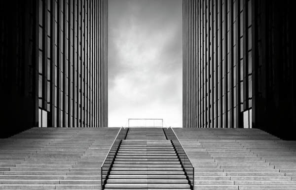 Wall Art - Photograph - Stairway To Nothing by Oliver Koch