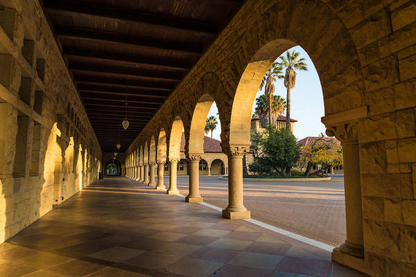 Photograph - Stanford University Arches by Priya Ghose