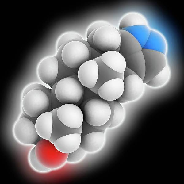 Wall Art - Photograph - Stanozolol Drug Molecule by Laguna Design/science Photo Library