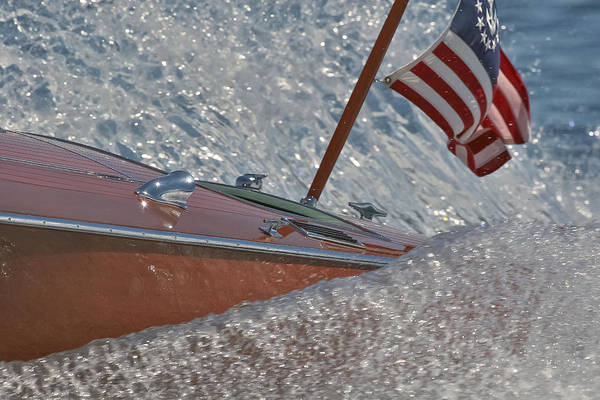 Photograph - Stars And Stripes Lake Tahoe by Steven Lapkin