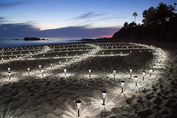 Stars On The Sand Art Print
