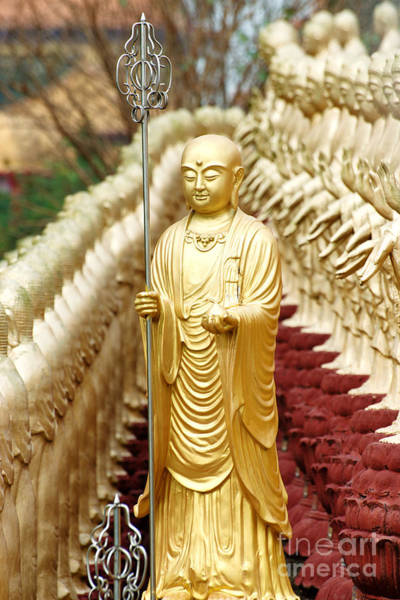 Photograph - Statue Of Dizhangwang by Yew Kwang