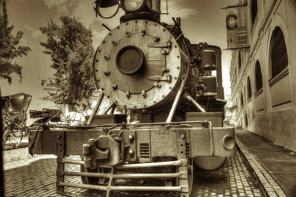 Photograph - Steam Engine Locomotive by Nick Mares