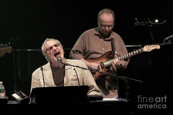 Donald Photograph - Steely Dan - Donald Fagen And Walter Becker by Concert Photos