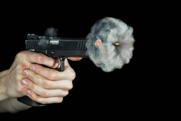 Firepower Photograph - Sti Edge Pistol Shot by Herra Kuulapaa � Precires