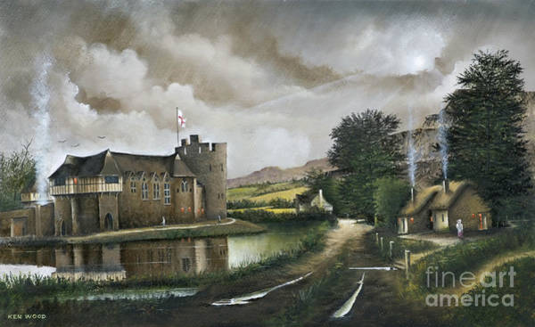 Painting - Stokesay Castle by Ken Wood