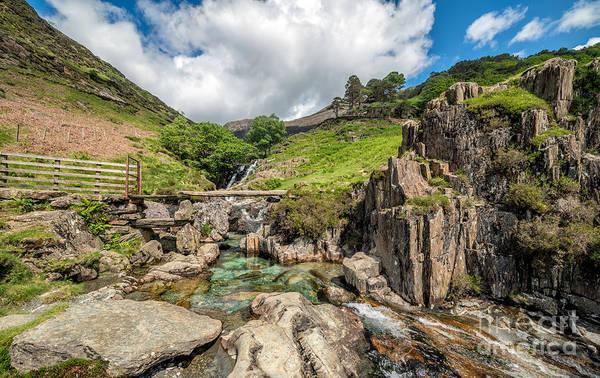 Gladstone Wall Art - Photograph - Stone Bridge Snowdonia by Adrian Evans