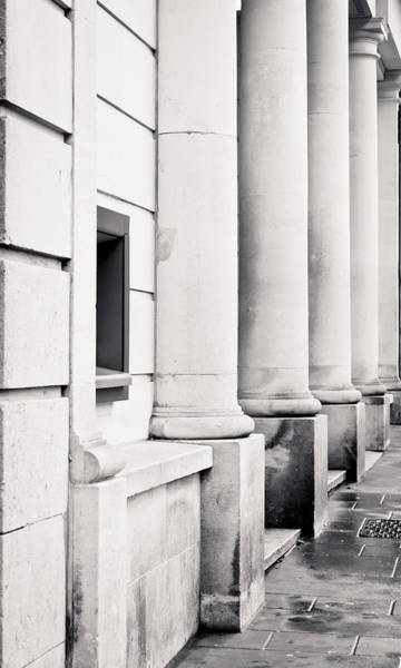 In Law Photograph - Stone Pillars by Tom Gowanlock