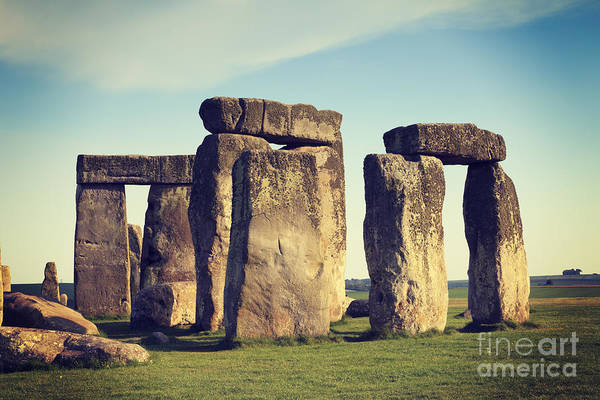 Instagram Photograph - Stonehenge by Colin and Linda McKie