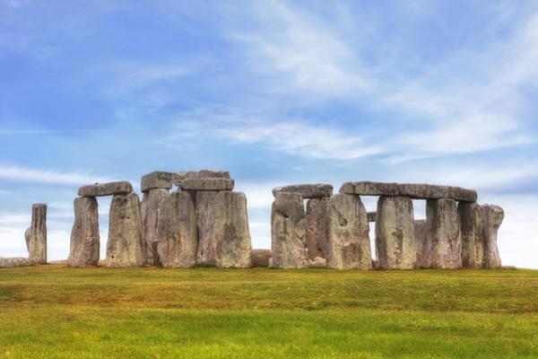 Bronze Age Wall Art - Photograph - Stonehenge by Joana Kruse