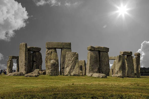 Druid Wall Art - Photograph - Stonehenge by Martin Newman