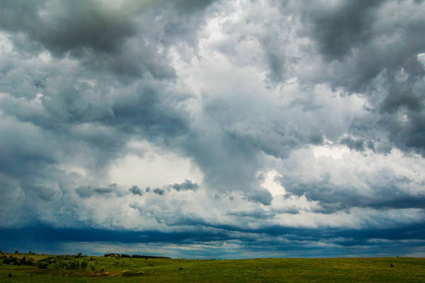 Photograph - Storm Building In South Central Nebraska by NebraskaSC