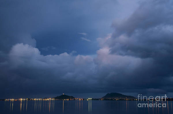Photograph - Storm Clouds Over Kaneohe Bay by Charmian Vistaunet