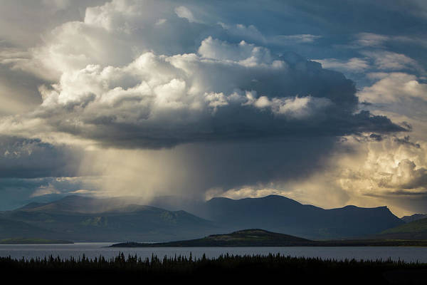Yukon Territory Photograph - Storm Clouds Over Kluane by Paul Zizka