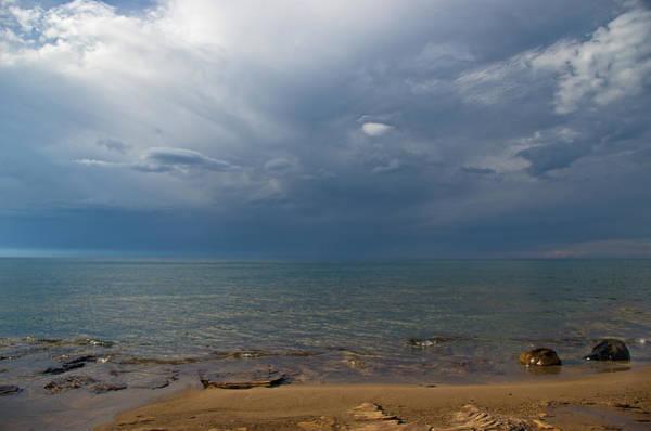 Storm Over Lake Superior Art Print