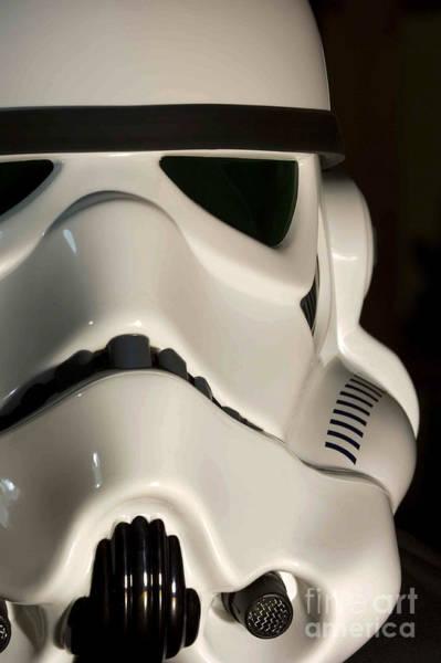 Star Wars Wall Art - Photograph - Stormtrooper Helmet by Micah May