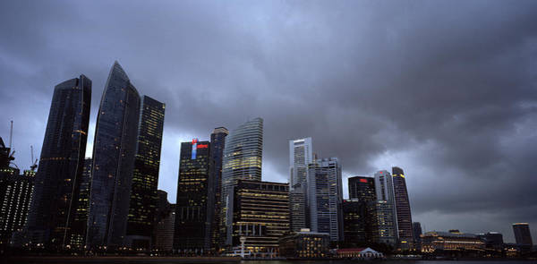 Photograph - Stormy Singapore by Shaun Higson