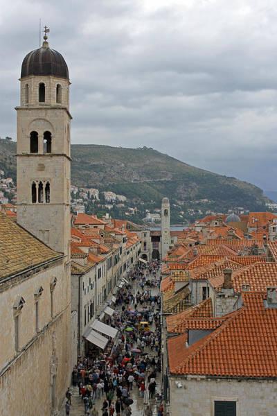 Photograph - Stradun Dubrovnik by Tony Murtagh