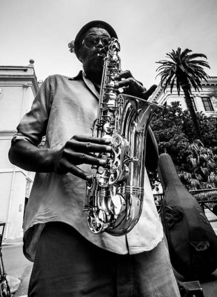 Photograph - Street Jazz On Display 2 by Andy Crawford