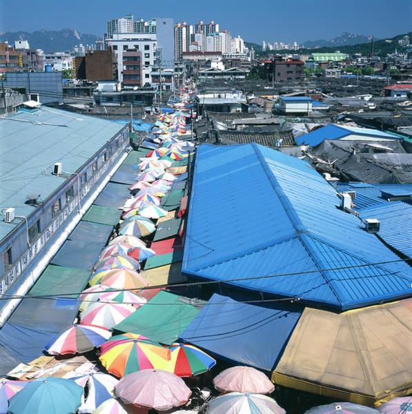 Wall Art - Photograph - Street Market by Mark De Fraeye/science Photo Library