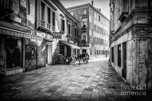 Photograph - Street Of Venice by Traven Milovich