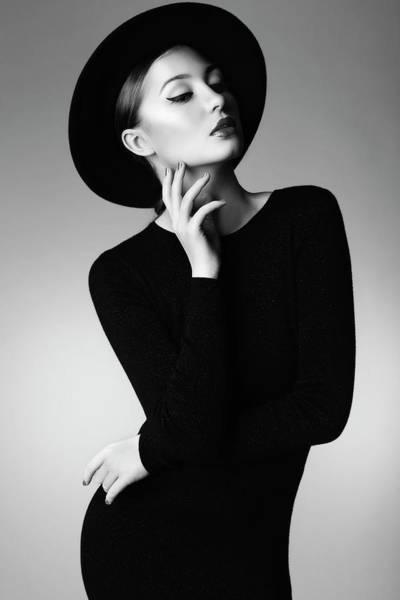 Beautiful People Photograph - Studio Shot Of Young Beautiful Woman by Coffeeandmilk
