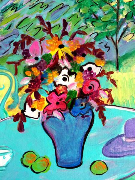Summer Blooms 2  Art Print