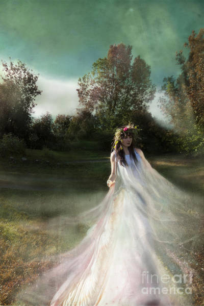 Wall Art - Photograph - Summer Fairy by Angel Ciesniarska