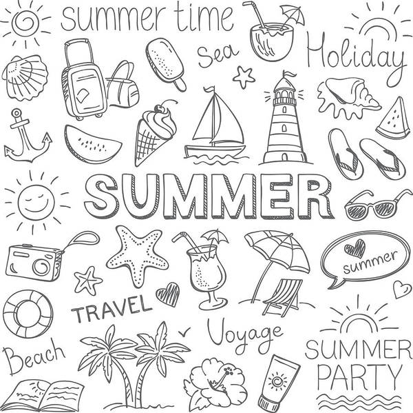 Summer Art Print by Ulimi
