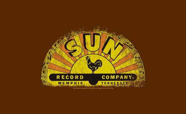 Wall Art - Digital Art - Sun - Vintage Logo by Brand A