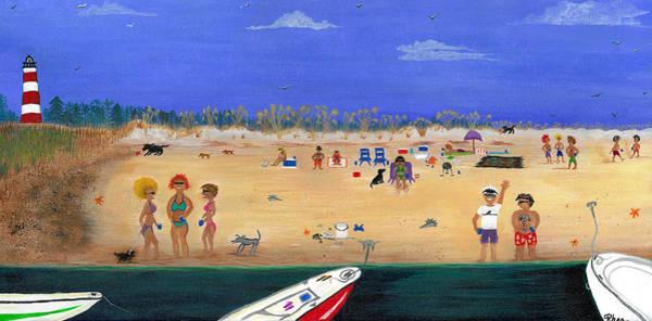 Rhea Painting - Sundays On Sapelo by Rhea Witthoft