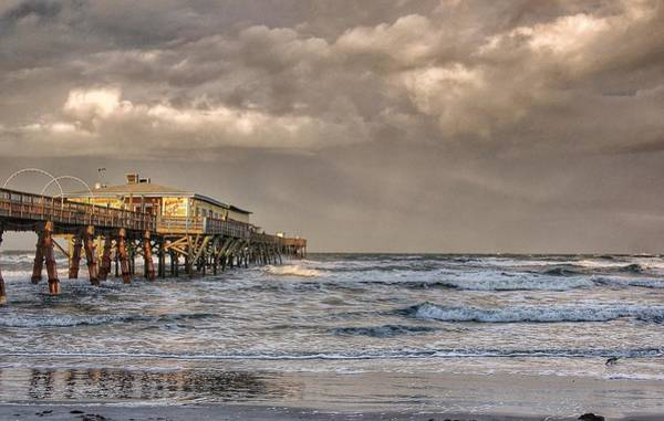 Photograph - Sunglow Pier by Kathy McCabe