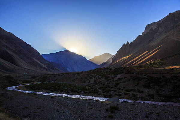 Mendoza Province Photograph - Sunrise Above The Ameghino Valley by Steele Burrow