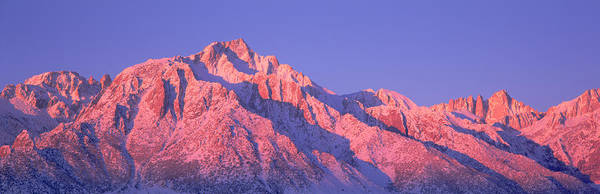 Inyo Mountains Photograph - Sunrise At 14,494 Feet, Mount Whitney by Panoramic Images