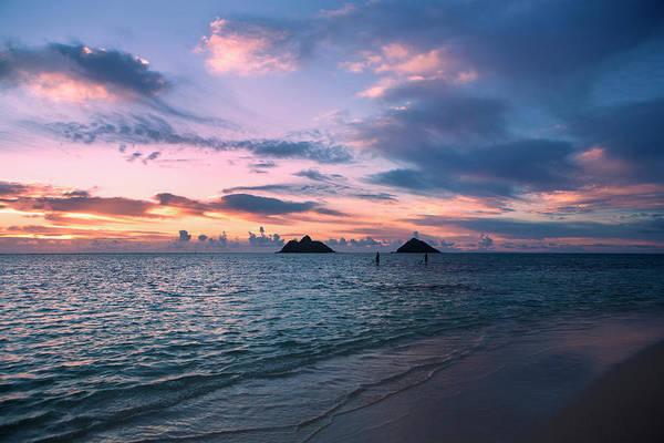 Wall Art - Photograph - Sunrise At Lanikai Beach  Kailua by Tomas del Amo