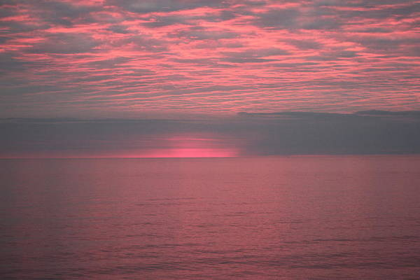 Wall Art - Photograph - Sunrise Atlantic Ocean by Valia Bradshaw