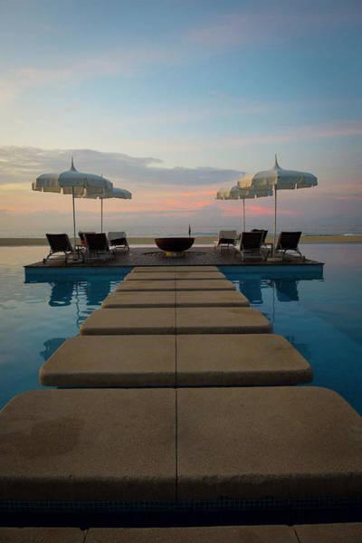 Baja Photograph - Sunrise, Grand Mayan Resort, San Jose by Douglas Peebles