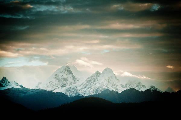 Wall Art - Photograph - Sunrise Himalayas Mountain Nepal by Raimond Klavins