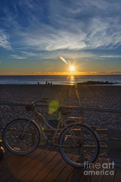 Photograph - Sunrise In Ocean Grove by Debra Fedchin
