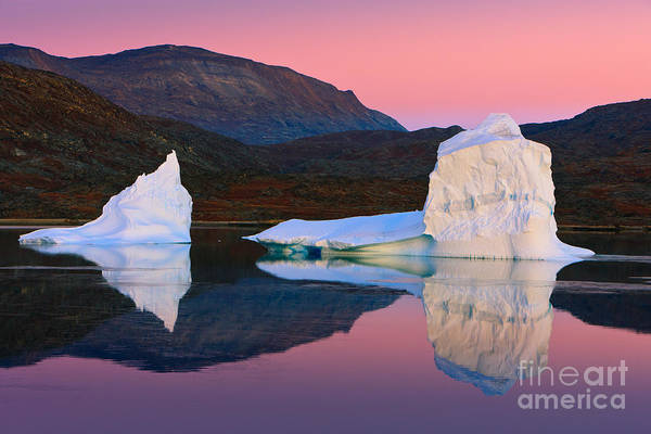 Meijer Wall Art - Photograph - Sunrise In The Rode Fjord by Henk Meijer Photography