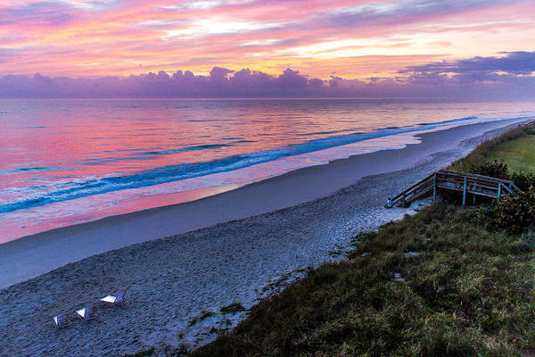 Photograph - Sunrise In Vero Beach by Pete Hendley