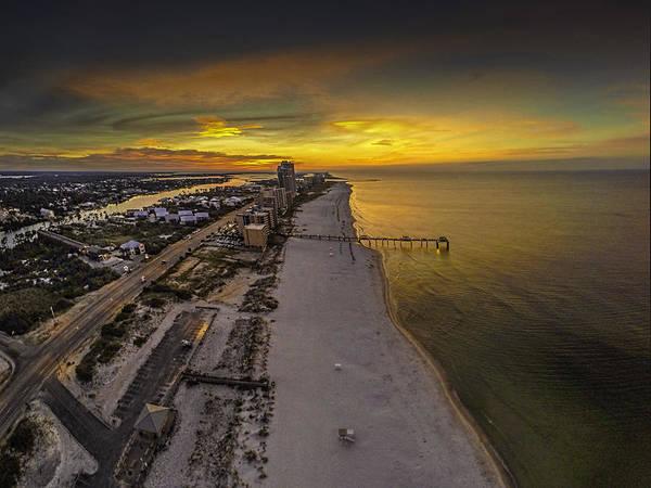 Digital Art - Sunrise Over Cotton Bayou Beach by Michael Thomas