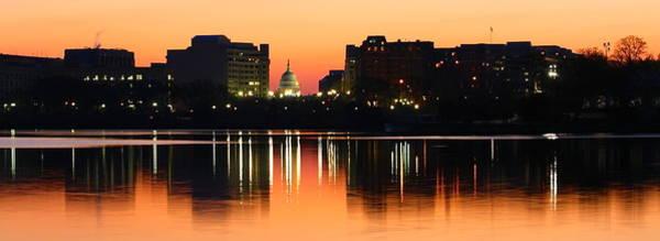 Sunrise Over The Capitol-2 Art Print