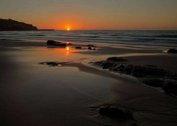 Photograph - Sunset At Sennen by Pete Hemington