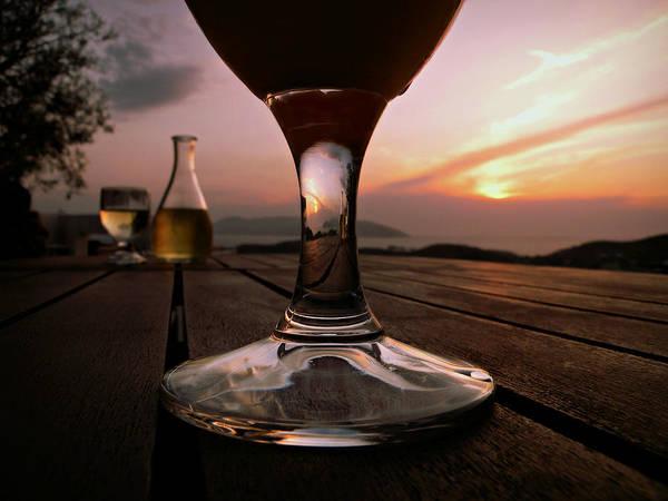 Photograph - Sunset Cafe by Micki Findlay